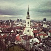 Photo taken at Bratislava Castle by Tsyki on 4/12/2013