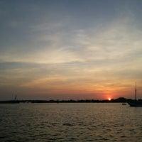 Photo taken at Pantai Losari by Ulie A. on 9/22/2012