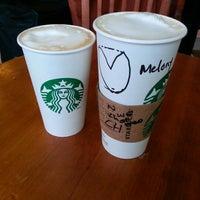 Photo taken at Starbucks by Melanie G. on 1/15/2013
