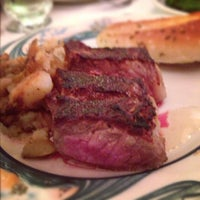 Photo taken at Peter Luger Steak House by Ray on 12/9/2012