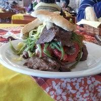 Photo taken at Juan y Medio by Victor U. on 10/30/2012