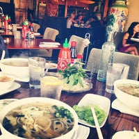 Photo taken at Pho on 6th by Kimberly F. on 4/7/2013