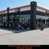Photo taken at Gateway Harley-Davidson by Carlos H. on 10/3/2012