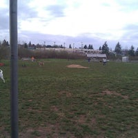 Photo taken at Potso Dog Park by Jesse M. on 4/10/2011