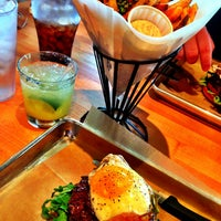 Photo taken at Hopdoddy Burger Bar by Colleen K. on 4/15/2013