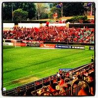 Photo taken at Pirtek Stadium by Michael on 1/26/2013