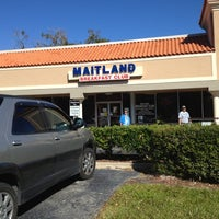 Photo taken at Maitland Breakfast Club by VP M. on 11/2/2012