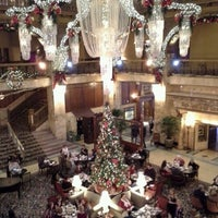 Photo taken at The Brown Palace Hotel and Spa, Autograph Collection by Danielle M. on 12/23/2012
