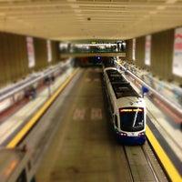 Photo taken at University Street LINK Station by Ivan S. on 10/3/2012