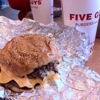 Photo taken at Five Guys by Laarni M. on 4/20/2014