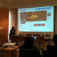 Photo taken at Facultad de Comunicación y Mercadotecnia de la UDLSB by Vito on 1/11/2013