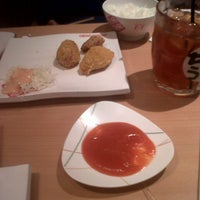 Photo taken at Chubo-Chubo Gourmet Japanese Resto by Ayumerah M. on 12/24/2013