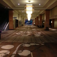 Photo taken at Hyatt Regency Bellevue on Seattle's Eastside by Greg R. on 1/6/2013