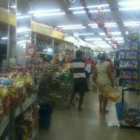 Photo taken at Bom Dia Supermercado by Cícero E. on 12/21/2012