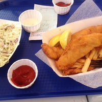 Photo taken at Harbor Fish and Chips by Lillian on 7/27/2013