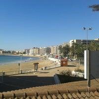 Photo taken at Playa El Salaret / Los Locos by Richard G. on 3/8/2013