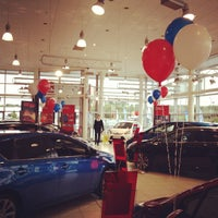 Photo taken at Toyota World by Matt S. on 8/16/2013
