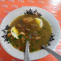 Photo taken at Soto Madura Cak Udin by Andi A. on 4/16/2014