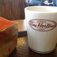 Photo taken at Tim Hortons by Rakesh A. on 7/10/2014