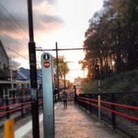 Photo taken at Station Overveen by Jacqueline v. on 11/13/2013