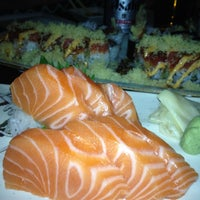 Photo taken at Fin Sushi & Sake Bar by Max G. on 2/16/2013