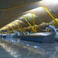 Photo taken at Terminal 4 by Juanma on 5/15/2013