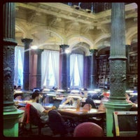 Photo taken at Biblioteca Nacional by Yaneth H. on 1/30/2013