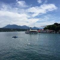 Photo taken at Seebrücke by Arkady L. on 6/13/2015