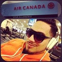 Photo taken at Air Canada Ticket Counter by DJ YONNY on 10/6/2012