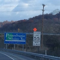 Photo taken at Maryland/Pennsylvania State Line by jody s. on 11/8/2013