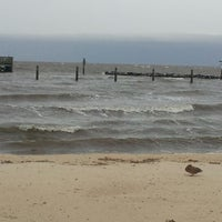Photo taken at North Beach Boardwalk by Eric A. on 10/28/2012