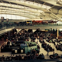 Photo taken at London Heathrow Airport (LHR) by Charles G. on 7/12/2013