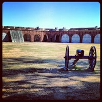 Photo taken at Fort Pulaski by Billy C. on 11/26/2012