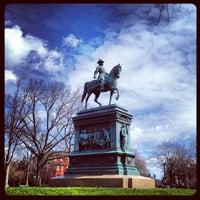 Photo taken at Logan Circle by Billy C. on 3/29/2013