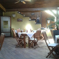 Photo taken at Pizzeria Azur by Daniel on 9/3/2013