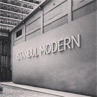 Photo taken at Istanbul Modern by Sereja K. on 8/18/2013
