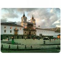 Photo taken at Iglesia de San francisco by Crisduman B. on 12/4/2012