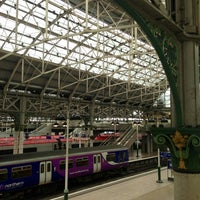 Photo taken at Manchester Piccadilly Railway Station (MAN) by Anna P. on 9/23/2013