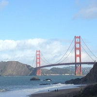 Photo taken at Baker Beach by Shauna H. on 12/22/2012