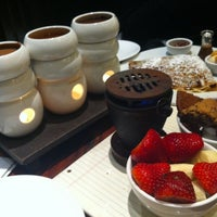 Photo taken at Max Brenner by Nastya on 1/6/2013