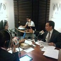 Photo taken at Televisa Radio by Trino S. on 3/21/2013