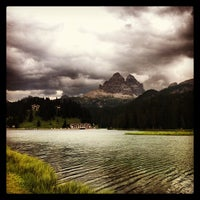 Photo taken at Lago di Misurina by Federico on 7/29/2013