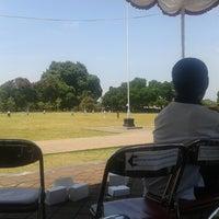 Photo taken at Lapangan Astina by Dewa A. on 9/5/2014