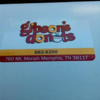 Photo taken at Gibson's Donuts by Shun S. on 5/24/2013