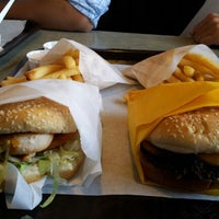 Photo taken at Burgers Supreme by Sherry M. on 9/15/2012