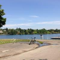 Photo taken at Green Lake Loop by Ruin U. on 5/10/2013
