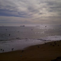 Photo taken at Caleta Portales by Diegox T. on 6/1/2013