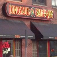 Photo taken at Dinosaur Bar-B-Que by Bill M. on 3/14/2013