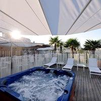 Photo taken at Attilio Beach Pleasure Club by Attilio Beach Pleasure Club on 6/25/2014