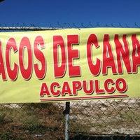 """Photo taken at """"Acapulco"""" Tacos de Canasta by Josue on 11/8/2012"""
